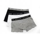 Boxerky  Pierre Cardin -  Velikost 2/S  Barva šedá  Složení 95% bavna  5% elastan