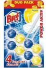 BREF POWER AKTIV  2 x 50 g LEMON   -  vůně do wc