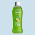Jemné tekuté mýdlo  Grep a čaj 1,5 l -  světle zelené: