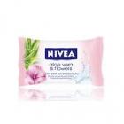 NIVEA Aloe Vera flowers  90 g - krémové mýdlo s výťažky aloe vera a květin