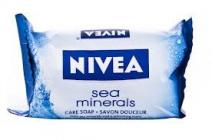 NIVEA Sea Minerals 90 g - krémové mýdlo s výťažky kokosu a mandlovým olejem
