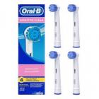 Oral-B SENSITIVE CLEAN   4 ks  EBS  17-4 náhradní kartáčové hlavice