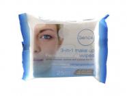 Sence 3 in1 make up 25 ks odličovací ubrousky pro všechny typy pleti